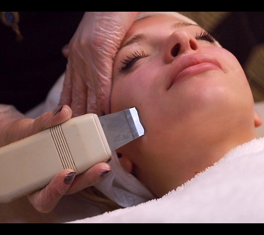 Ultrasonic Peeling